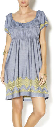 Uncle Frank Knit Embroidered Dress