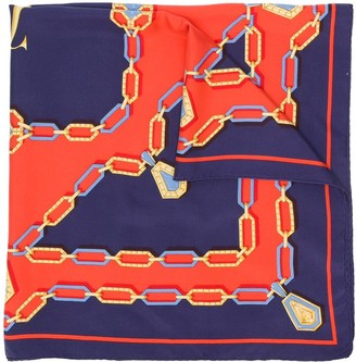 Cartier Pre-Owned Graphic Print Scarf