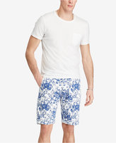 Denim & Supply Ralph Lauren Men's Slim Fit Floral-Print Cotton Chino Shorts
