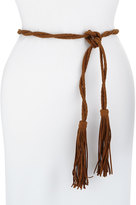 Neiman Marcus Twisted Tubular Fringe Belt