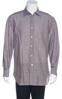 Kiton Su Misura Striped Shirt