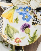 Mackenzie Childs MacKenzie-Childs Thistle & Bee Bread and Butter Plate