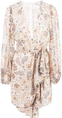 Shona Joy Miller Plunged Mini Dress
