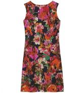 JANE FLORAL PRINT SILK DRESS