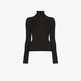 Carcel Alpaca Wool Turtleneck Sweater