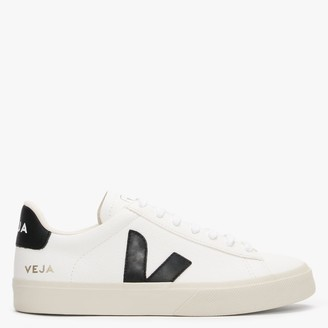 Veja Campo Chromefree Leather Extra White Black Trainers