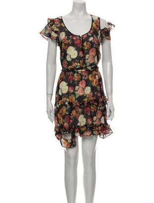 R 13 Wool Mini Dress Wool