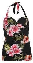 Soul Cal SoulCal Womens Tankini Top Swimwear Beach Water Pool Summer Tie Fastenings