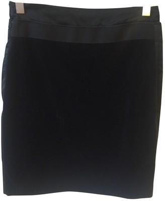 Philosophy di Alberta Ferretti Black Velvet Skirt for Women
