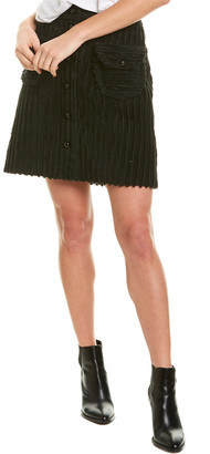 Anna Sui Cozy Cords Mini Skirt