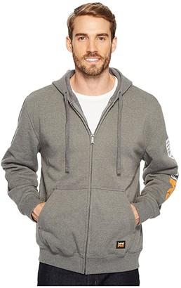 Timberland Hood Honcho Full Zip Hooded Sweatshirt (Jet Black) Men's Sweatshirt