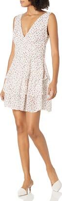 Sugar Lips Sugarlips Women's Laney Floral Tiered Mini Dress