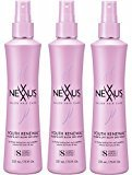 Nexxus Youth Renewal Plump And Lift Blow Dry Spray, 7.5 Ounce, (Pack of 3)