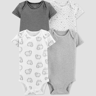 Carter's Just One You Made By Baby 4pk Bodysuit - Just One You® made by Gray