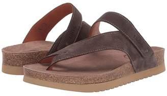 Taos Footwear Lola (Grey Suede) Women's Sandals