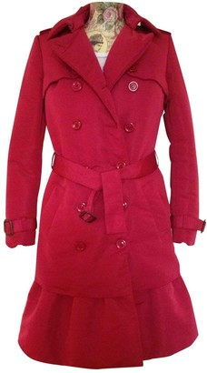 Moschino Cheap & Chic Moschino Cheap And Chic Red Coat for Women