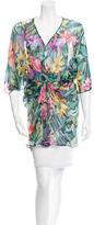 Blumarine Silk Embellished Tunic