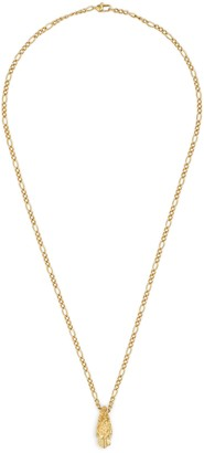 Gucci Yellow gold necklace with tiger head