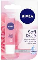 Nivea Lip Care Soft Rose - Pack of 6