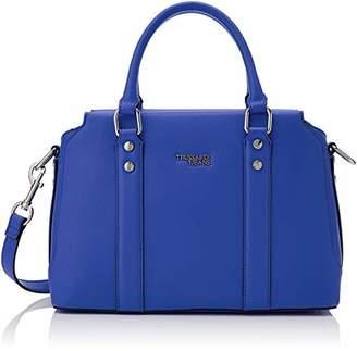 Trussardi Jeans Women's 75B00743-9Y099999 Top-Handle Bag Blue