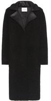 Velvet Evelette faux shearling coat