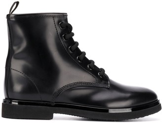 AGL Lace-Up Combat Boots