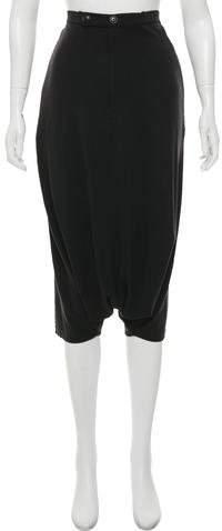Y-3 Harem Cropped Pants