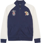 Ralph Lauren Logo Cotton Bomber Jacket 6-14 Years