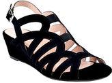 Taryn Rose Shel Suede Wedge Sandals