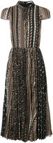 Alice + Olivia Alice+Olivia printed panels dress