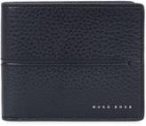Boss Elite Navy Leather Wallet