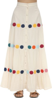 Carolina K. Gigi Cotton Gauze Maxi Skirt