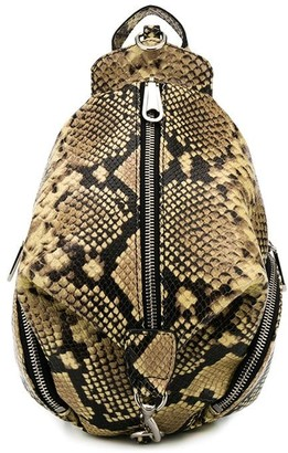 Rebecca Minkoff Julian embossed backpack
