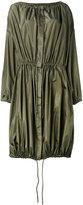 Kenzo oversized parka - women - Silk/Polyester - 34