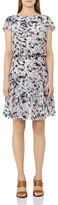 Reiss Annah Tiered Printed Dress