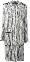 Rochas chunky knit coat