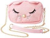 Charlotte Russe Velvet Cat Crossbody Bag