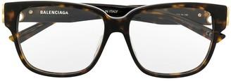 Balenciaga Eyewear Tortoiseshell Optical Glasses