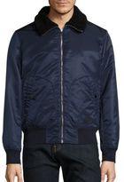 Rag & Bone Shearling Collar Bayes Jacket