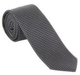 Z Zegna Zegna Z Geometric Silk Jacquard Tie