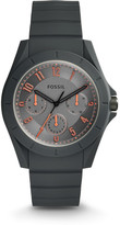 Fossil Poptastic Sport Multifunction Gray Silicone Watch
