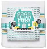 "Now Designs 2pk White Kitchen Towel (18""x28"")"