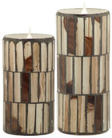 Pacific Accents Solare Flameless Candle