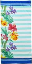 Dohler Towels Multi Floral & Stripe Towel