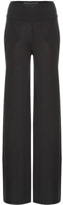 Rick Owens Lilies cotton-blend wide-leg pants