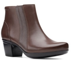 Clarks Collection Women's Emslie Newport Boots Women's Shoes