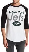 Junk Food Clothing New York Jets Baseball Tee