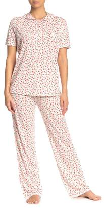 Cosabella Claire Floral Jersey Pajama Pants