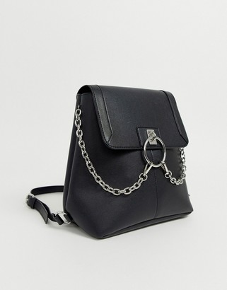 Asos Design DESIGN ring festival backpack