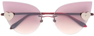 Sama Eyewear Loree Rodkin Kiss sunglasses